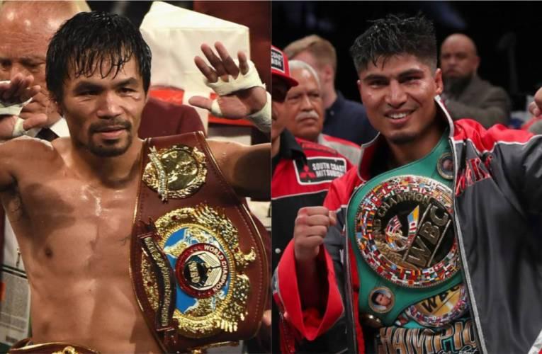 Manny Pacquiao confirma negociaciones para pelea contra Mikey García