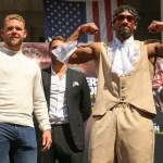 Billy Joe Saunders & Demetrius Andrade (Matchroom Boxing)