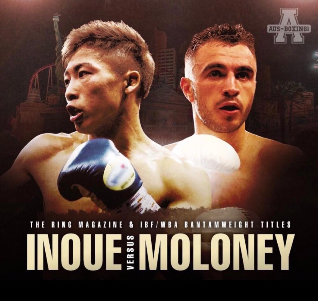 Naoya Inoue & Jason Moloney (Foto Cortesía AUS Boxing)