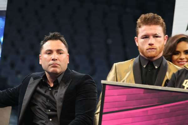 Oscar De La Hoya & Canelo Álvarez (Golden Boy Promotions)