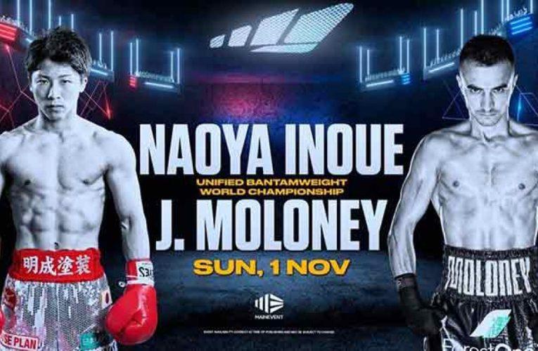 NAOYA INOUE VS JASON MOLONEY: ESTE SÁBADO POR ESPN