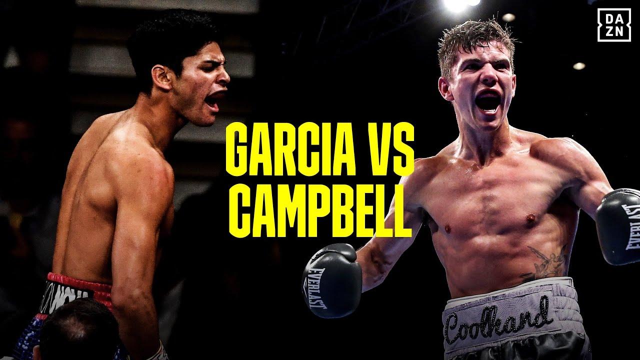 Ryan García & Luke Campbell (Foto Cortesía)