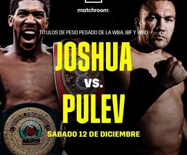 Anthony Joshua vs. Kubrat Pulev: sábado 12 de diciembre en Londres por DAZN – Analisis y Prediccion.