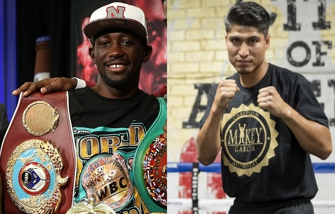 MIKEY GARCÍA QUIERE PELEAR CONTRA TERENCE CRAWFORD