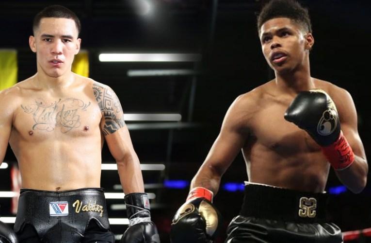 «Los mejores deben pelear contra los mejores» Valdez a Shakur Stevenson