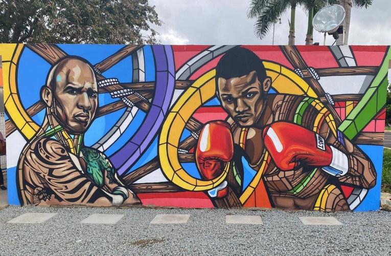 El arte se junta con el boxeo para el bien de la juventud en Bayamón