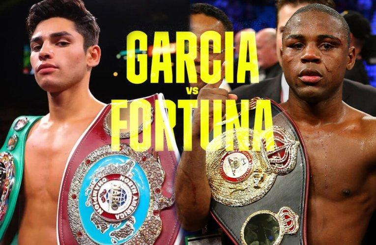 Ryan García abandona pelea con Javier Fortuna por problemas de salud