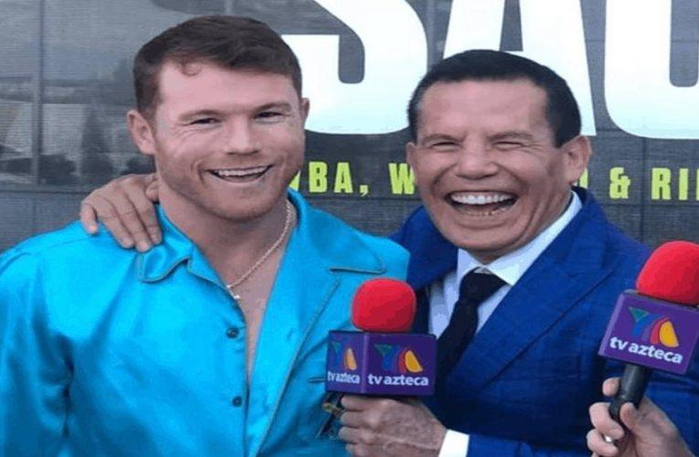 Chávez a Canelo «Estoy orgulloso de ti; no entiendo a tus haters»