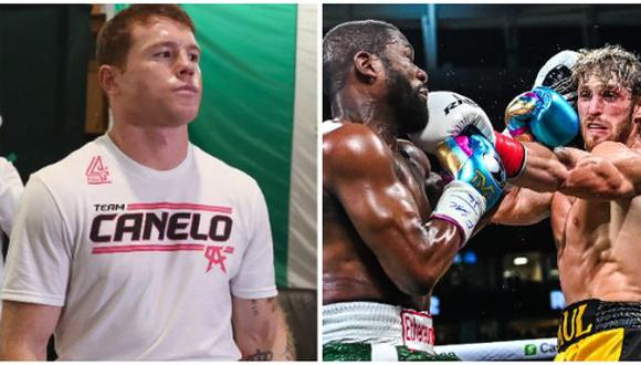 Canelo Álvarez criticó la pelea de Mayweather y Paul
