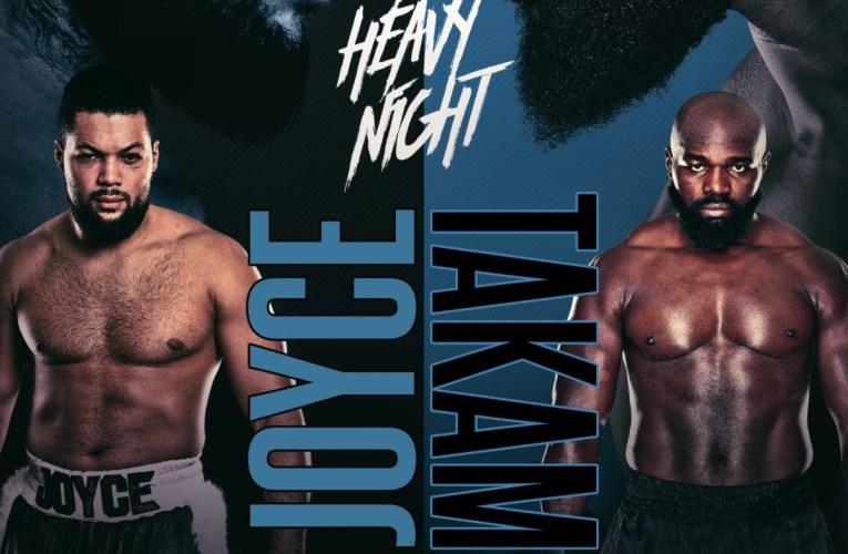 Joe Joyce vs Carlos Takam ¡OFICIAL!