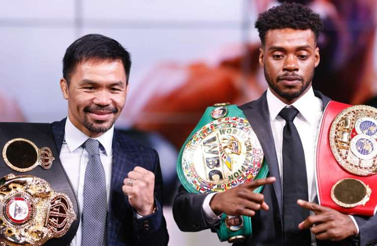 """Manny Pacquiao """"Spence es mucho mejor que Mayweather"""""""
