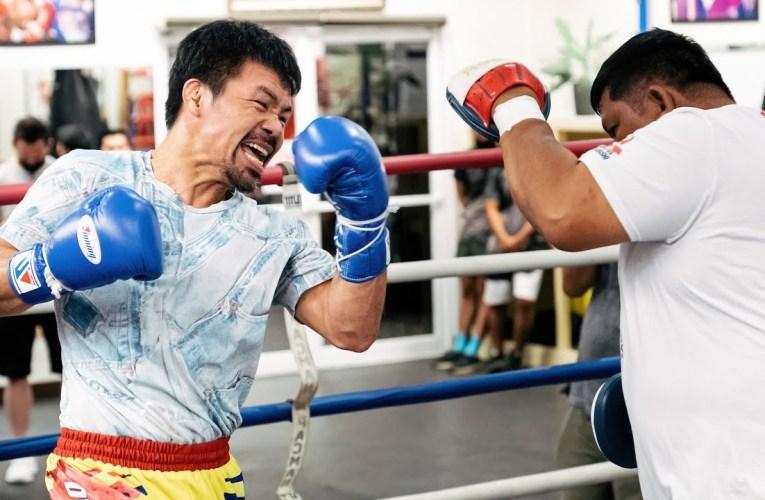 Manny Pacquiao comienza campamento en EEUU de cara a Spence