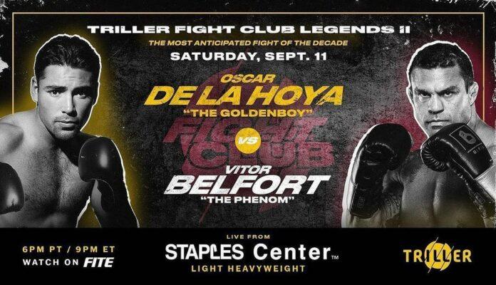 Oscar De La Hoya vs Vitor Belfort ¡PELEA DE VERDAD Y OFICIAL!