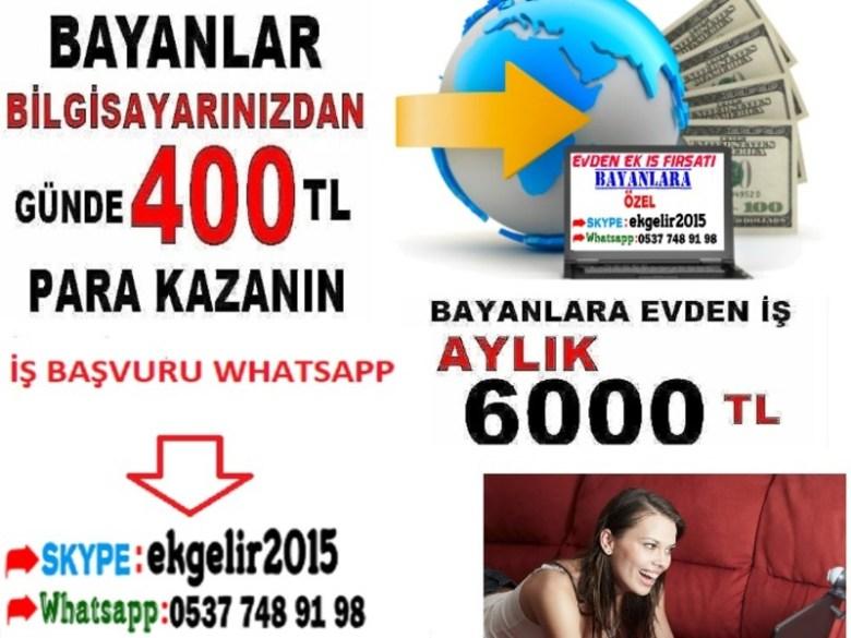 image1 Görüntülü Konuşarak Para Kazanma Bayanlara Özel İş İmkanı