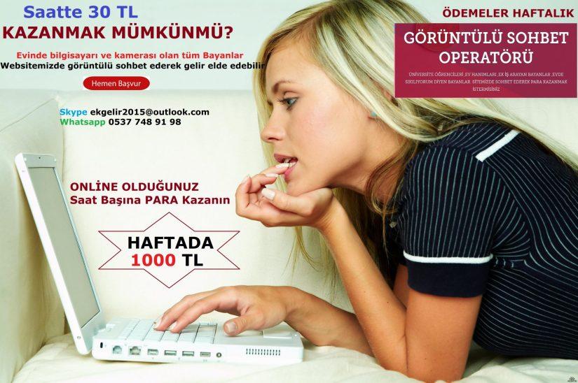 Chat Yaparak İnternetten Para Kazanma