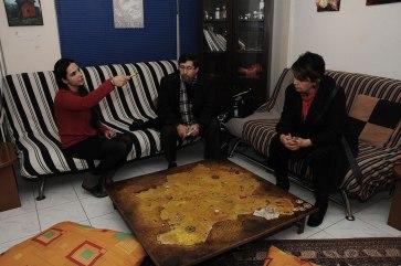 Gazeteci bey ve Terlan Hoca Hala ile..