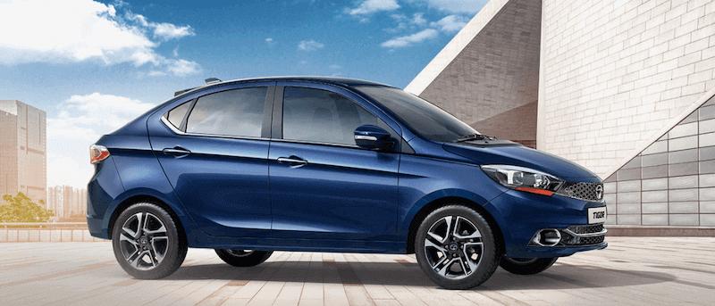 2020 TATA Tigor EV Feature in Blue color model