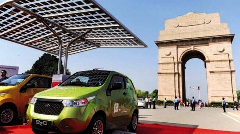 Government Moves towards Electric Vehicle Industry in India