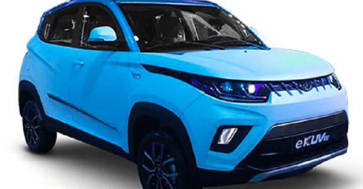 Mahindra Electric SUV eKUV 100 - EV Duniya