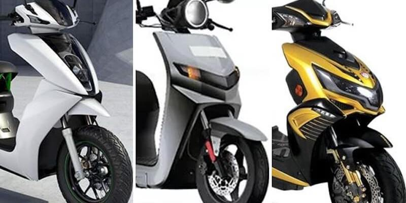 List of Best Electric Scooters in India by features & Price