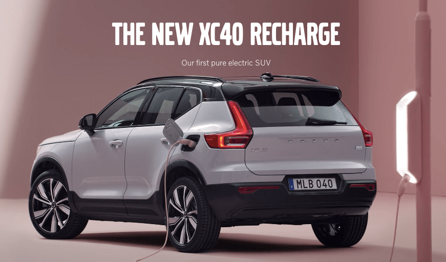 Volvo XC40 Recharge Specification & High tech features