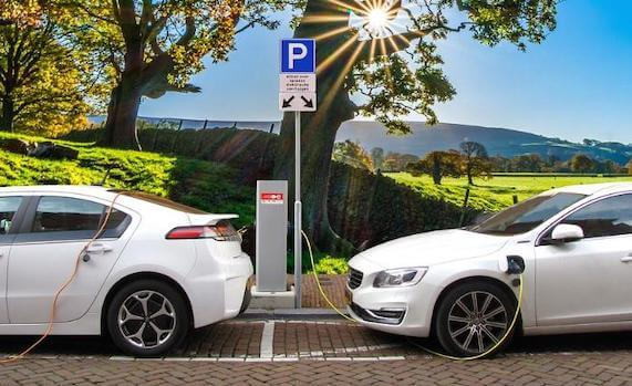 Advanced parking Charging system for future of electric vehicles