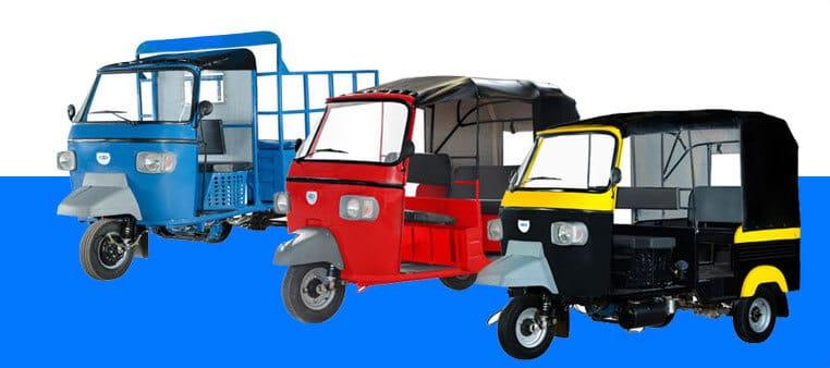 Electric Three Wheelers in India