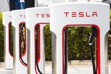 TESLA Charging Station Network