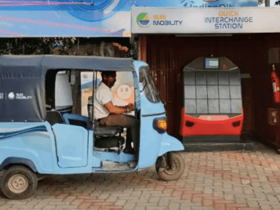 Indian Oil in partnership with SUN Mobility to install Battery-swapping stations for Electric vehicles in India