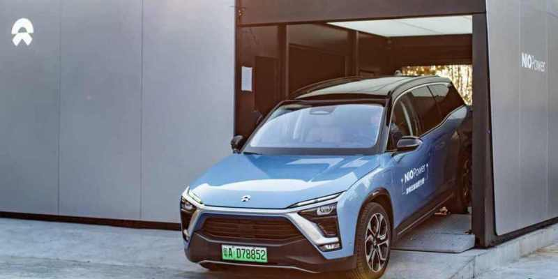 NIO's battery swapping makes a big stride as it completes 500,000 battery swaps