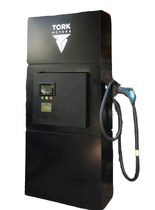 TORK Motors first charging station