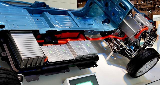 Li batteries in Electric Vehicle