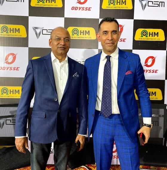Mr. Uday Narang, Chairman & Dr. Deb Mukherji, MD OSM