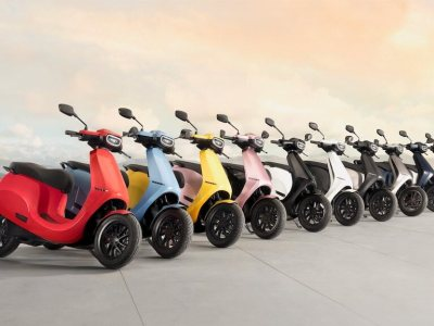 Ola Scooter - a revolution in 10 colours