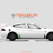 YBRANIUM electric vehicle charging station