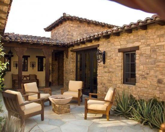 İki katlı küçük ev planları, dar alanlara i̇nşa etmek i̇çin fikirler. 12. TaÅŸ Ev ve Avlu Tasarımı Bir Arada - Ev Düzenleme