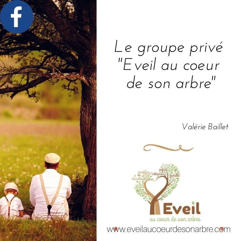Mon groupe Eveil au coeur de son arbre