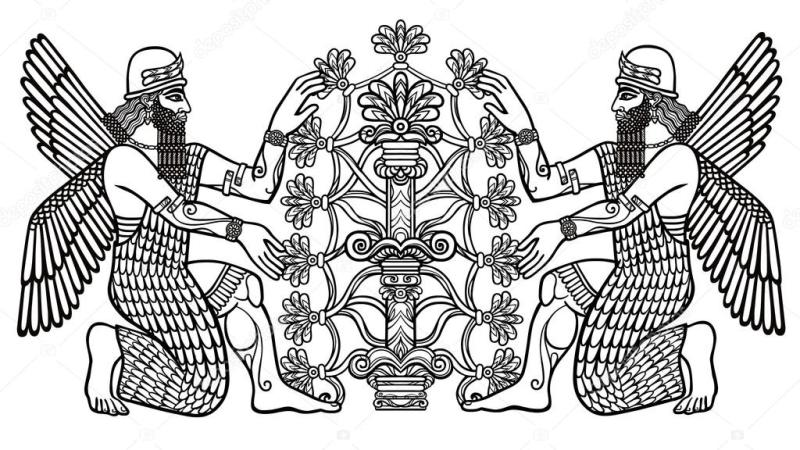 depositphotos_127563624-stock-illustration-the-silhouette-of-the-assyrian