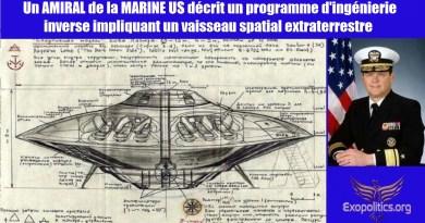 Un amiral de la marine décrit un programme d'ingénierie inverse impliquant un vaisseau spatial extraterrestre