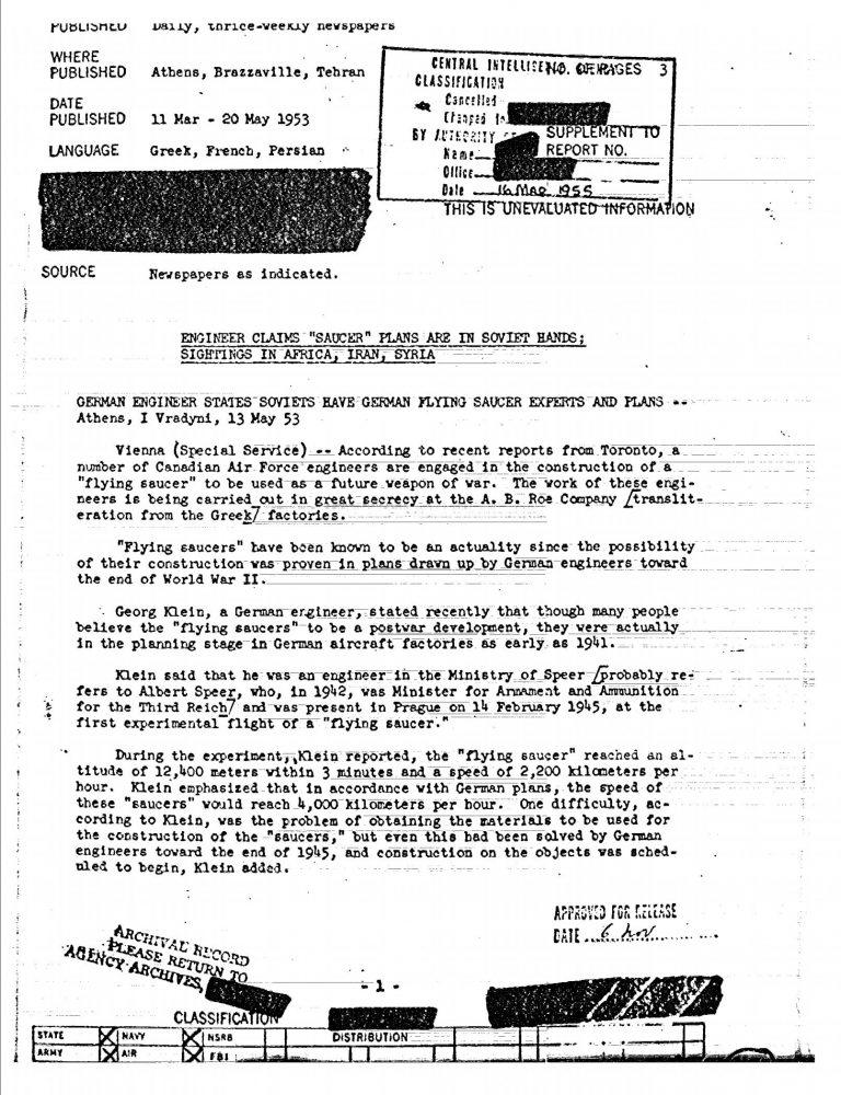 Declassified-CIA-Documents-UFO