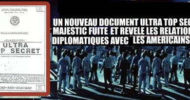 Un nouveau document Majestic révèle les relations diplomatiques américaines avec des Extraterrestres
