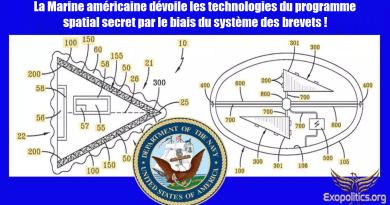 La Marine américaine dévoile les technologies du programme spatial secret par le biais du système des brevets !