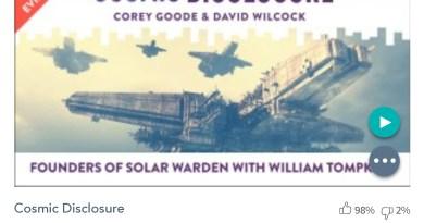 Émission « DIVULGATION COSMIQUE », l'intégrale. Saison 6, épisode 8/17 : LES FONDATEURS DE SOLAR WARDEN, AVEC WILLIAM TOMPKINS
