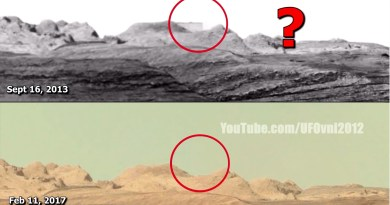 D'anciennes ruines d'une cité inconnue sur Mars trouvées sur des images officielles de la NASA