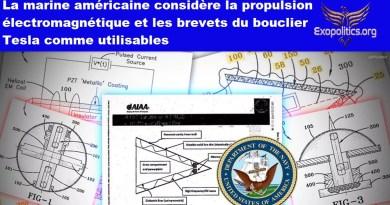 La marine américaine considère la propulsion électromagnétique et les brevets du bouclier Tesla comme utilisables