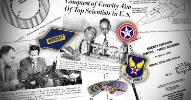 La vérité est que les militaires font des recherches sur «l'anti-gravité» depuis près de 70 ans