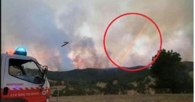 Des témoins affirment que des lasers et des compteurs intelligents explosifs sont utilisés pour allumer les feux de brousse en Australie