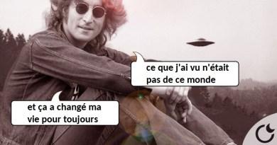 JOHN LENNON FUT TÉMOIN DE L'APPARITION D'UNOVNI…