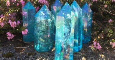 La Conscience du Cristal de Quartz Aqua Aura et la Lémurie