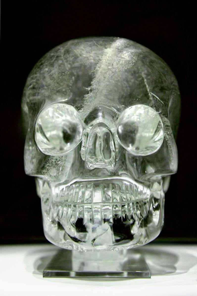 Crâne de Cristal du British Museum